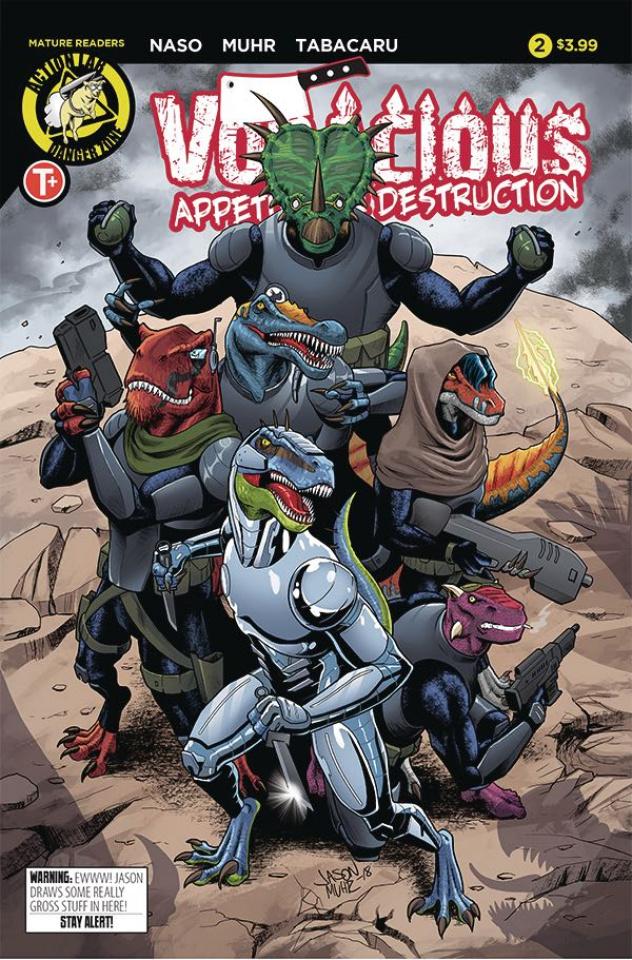 Voracious: Appetite for Destruction #2 (Muhr Cover)