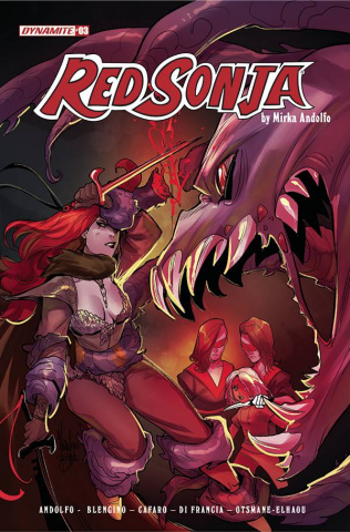 Red Sonja #3 (Andolfo Cover)