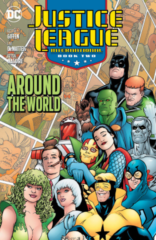 Justice League International Book 2: Around the World