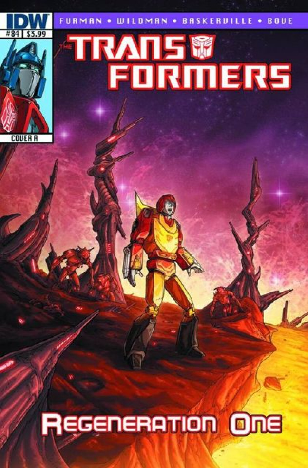 The Transformers: Regeneration One #84