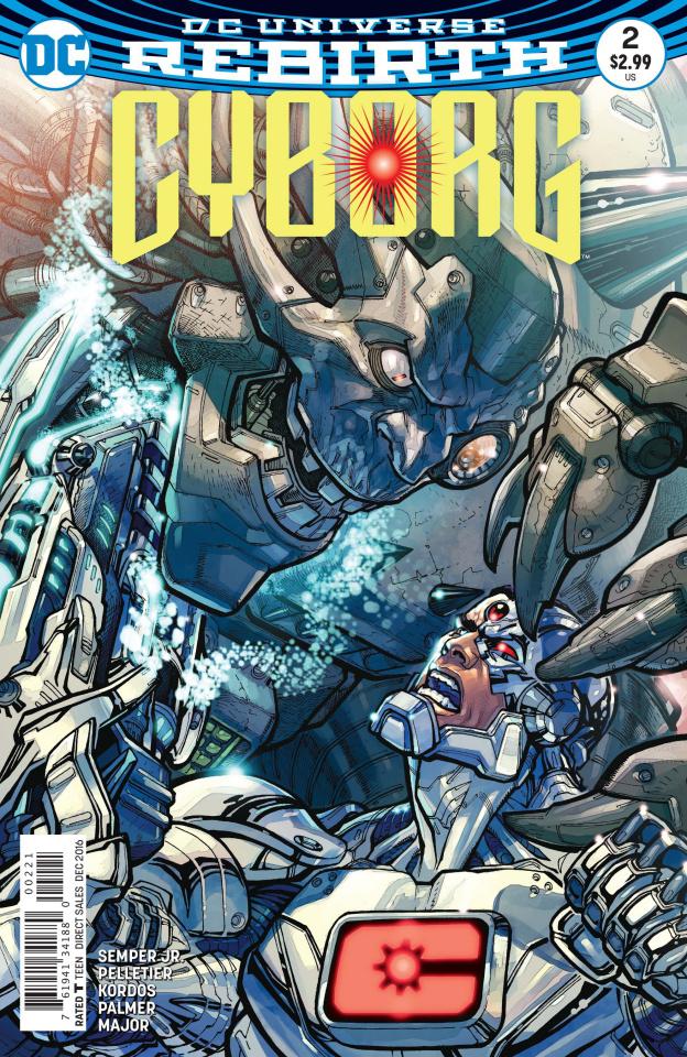 Cyborg #2 (Variant Cover)