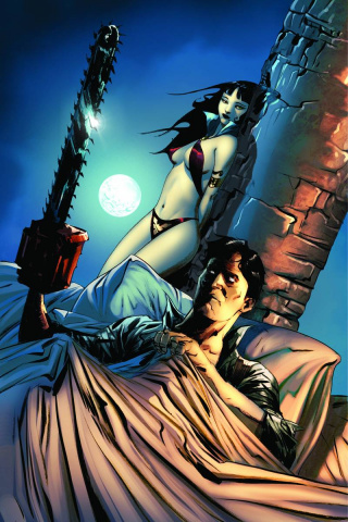 Vampirella / Army of Darkness #1 (Rare Lee Cover)