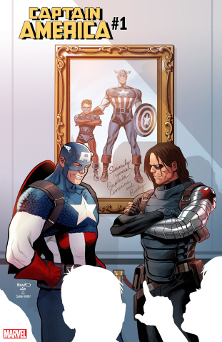 Captain America #1 (Renaud / Simon / Kirby Cover)