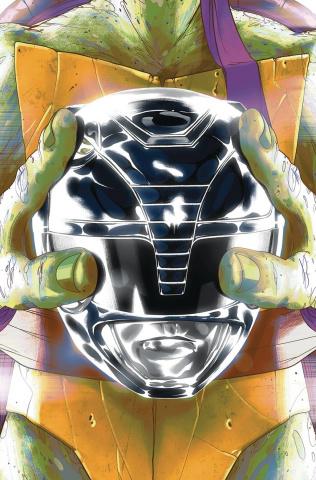 Power Rangers / Teenage Mutant Ninja Turtles #5 (Don Montes Cover)