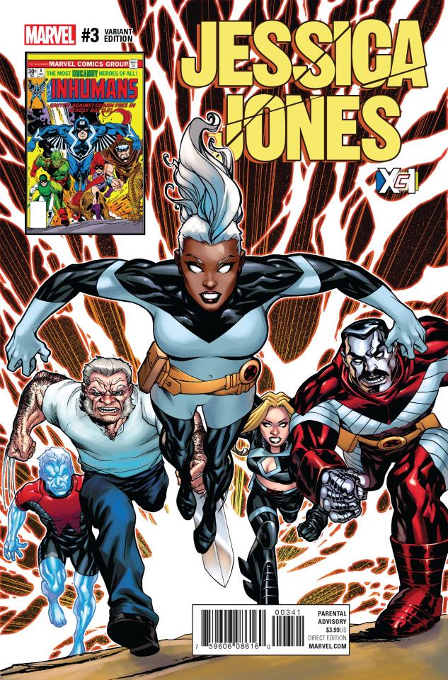 Jessica Jones #3 (McKone XcI Cover)