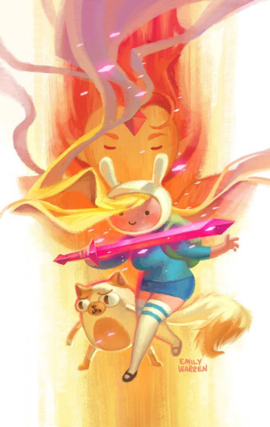 Adventure Time with Fionna & Cake #1 (Exclusive Cover)