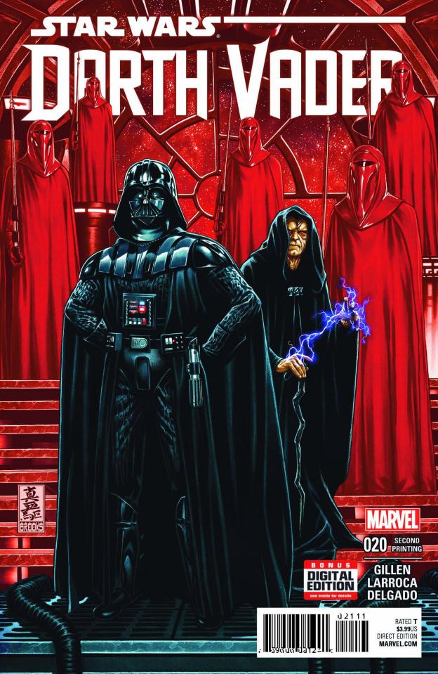 Darth Vader #20 (2nd Printing Brooks Cover)