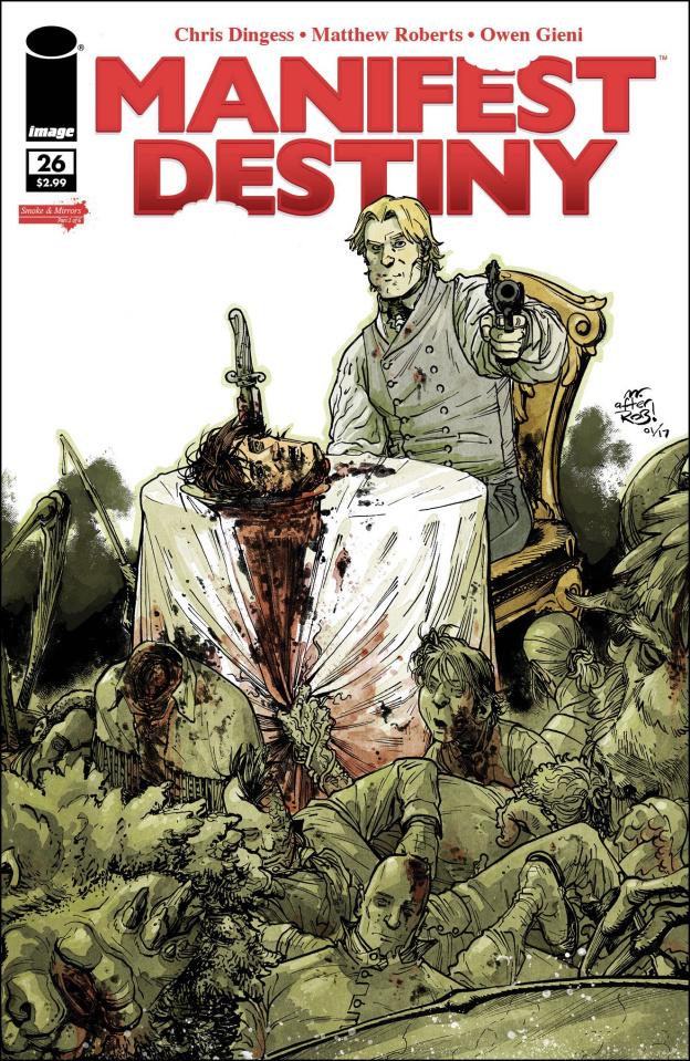 Manifest Destiny #26 (Image Tribute Cover)