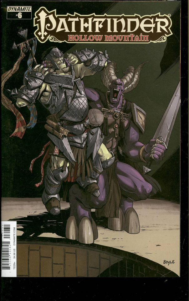 Pathfinder: Hollow Mountain #6 (Subscription Cover)