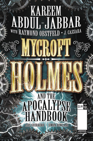 Mycroft Holmes #1 (Novel Cover)