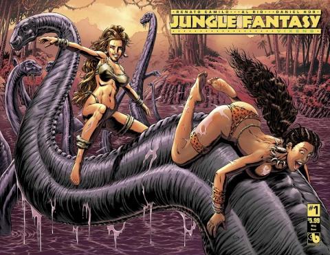 Jungle Fantasy: Vixens #1 (Wrap Cover)