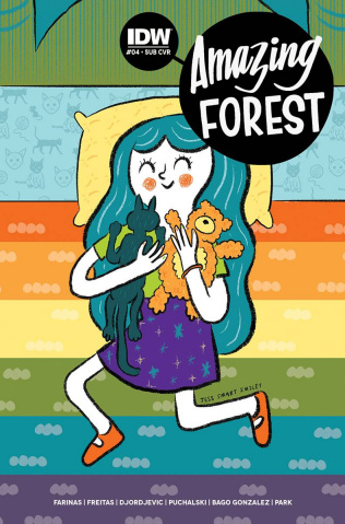 Amazing Forest #4 (Subscription Cover)