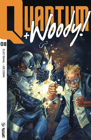 Quantum & Woody #8 (Fowler Cover)