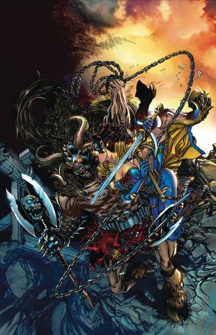 Belle: Beast Hunter #1 (Tolibao Cover)