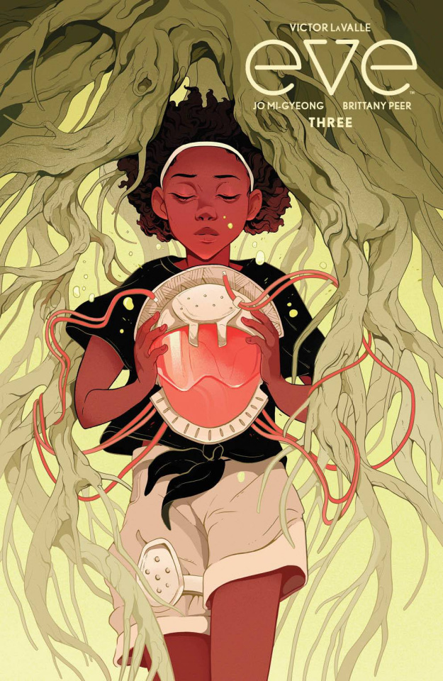 Eve #3 (Pendergast Cover)