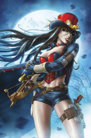 Grimm Fairy Tales: Van Helsing vs. Dracula #5 (Cardy Cover)