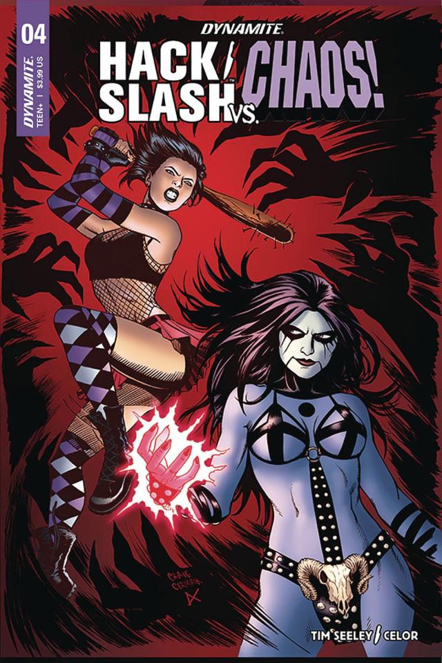 Hack/Slash vs. Chaos! #4 (Cermak Cover)