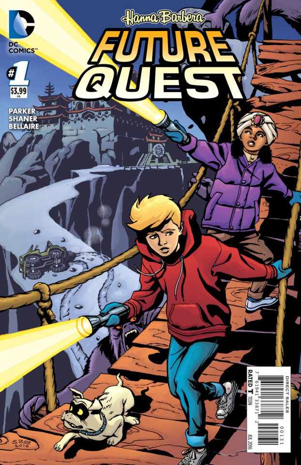 Future Quest #1 (Jonny Quest Cover)
