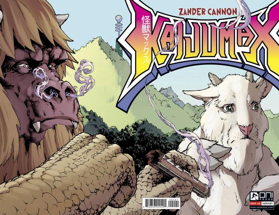 Kaijumax #2 (20 Copy Ha Cover)
