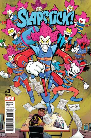 Slapstick! #3 (Olortegui Cover)