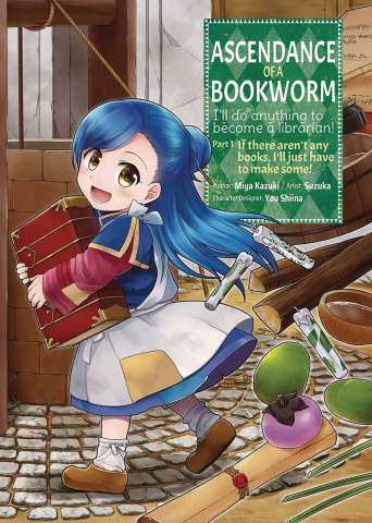 Ascendance of a Bookworm Vol. 1