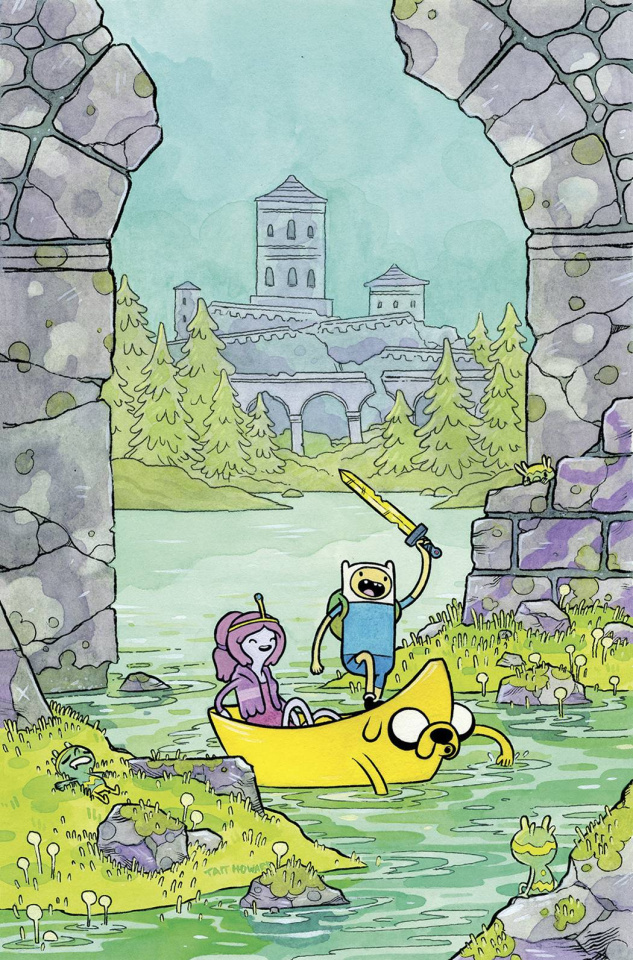 Adventure Time #32 (Subscription Howard Cover)
