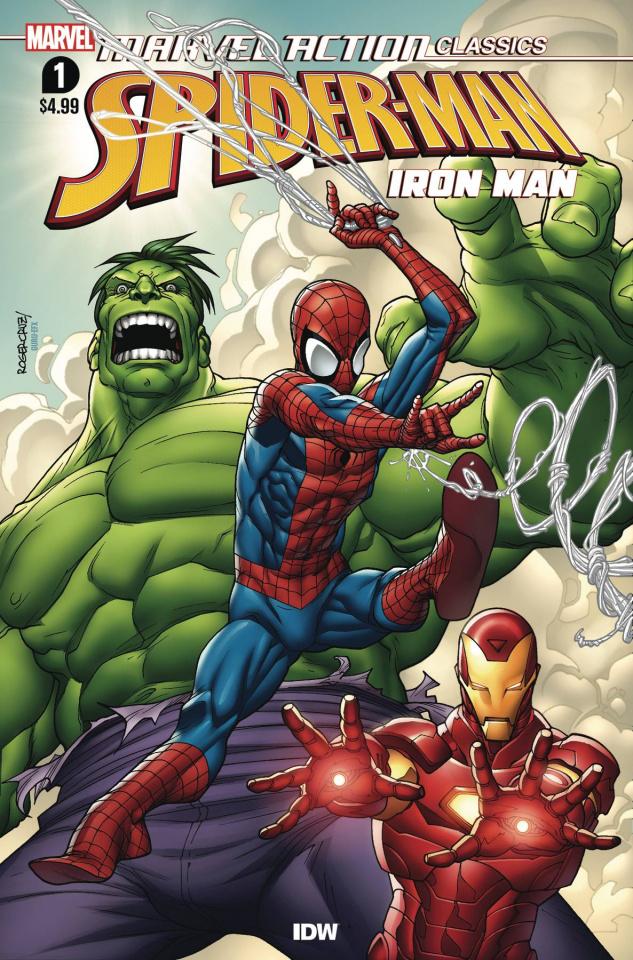 Marvel Action Classics: Avengers Starring Iron Man #1