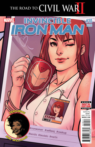 Invincible Iron Man #10 (Deodato 2nd Printing)