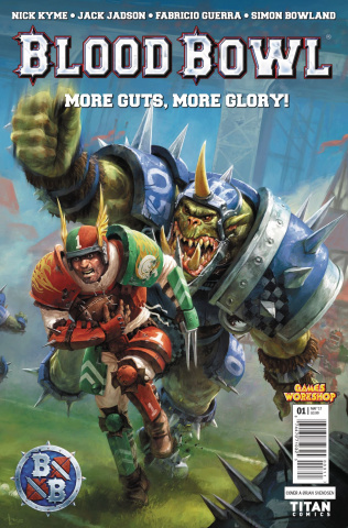 Blood Bowl: More Guts, More Glory! #1 (Svendsen Cover)