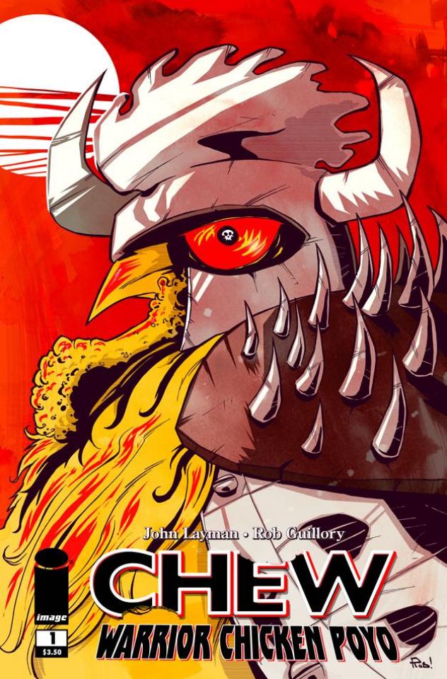 Chew: Warrior Chicken Poyo #1 (2nd Printing)