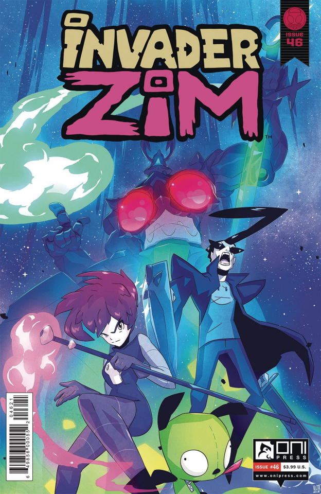 Invader Zim #46 (Cab Cover)