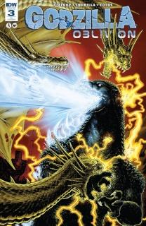 Godzilla: Oblivion #3 (10 Copy Cover)