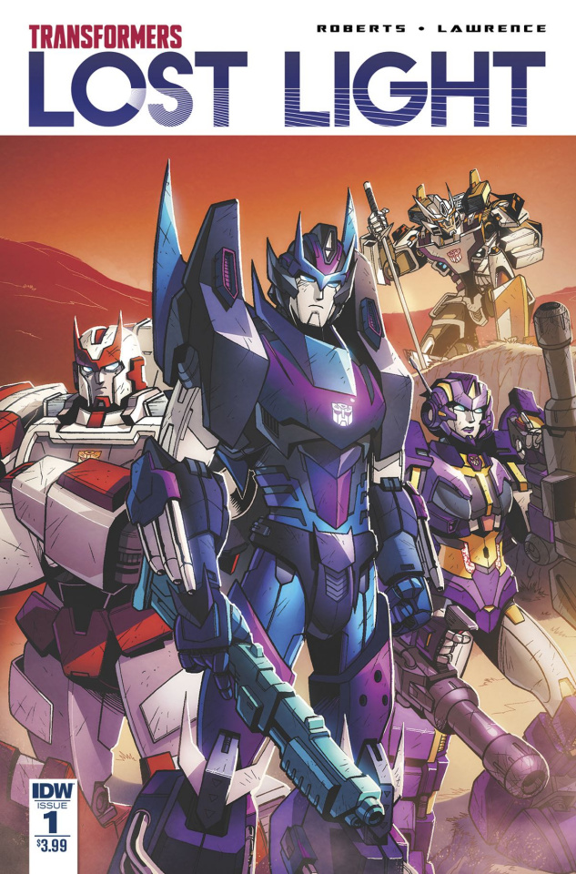 The Transformers: Lost Light #1