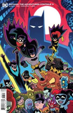 Batman: The Adventures Continue #3 (Dan Hipp Cover)