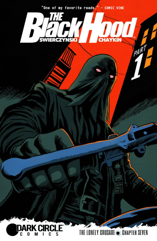 The Black Hood #7 (Francavilla Cover)