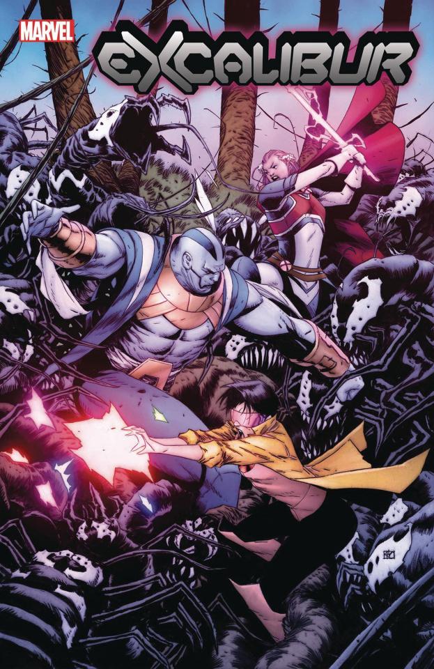 Excalibur #3 (Pham Venom Island Cover)