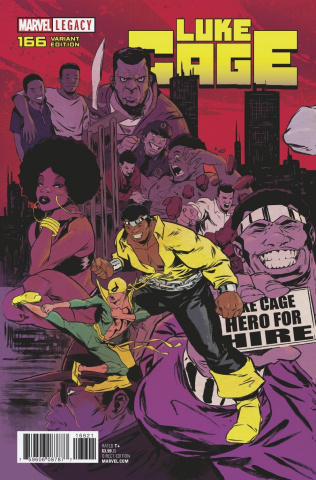 Luke Cage #166 (Greene Connecting Cover)