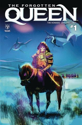 The Forgotten Queen #1 (Kalvachev Cover)