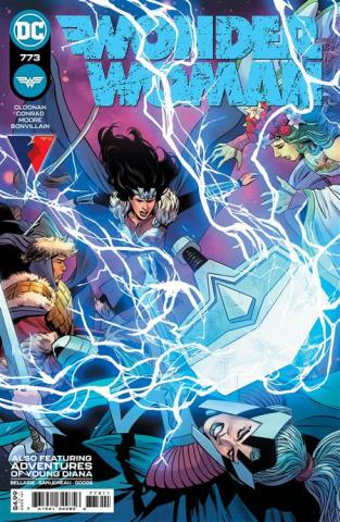 Wonder Woman #773 (Travis Moore Cover)