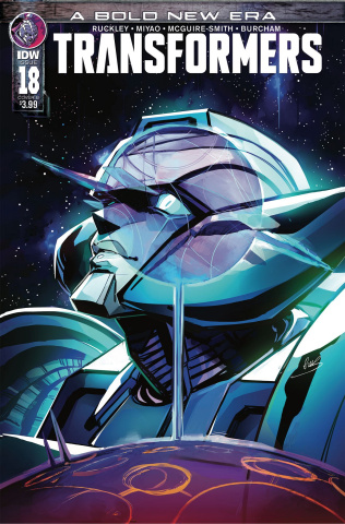 The Transformers #18 (McGuire-Smith Cover)