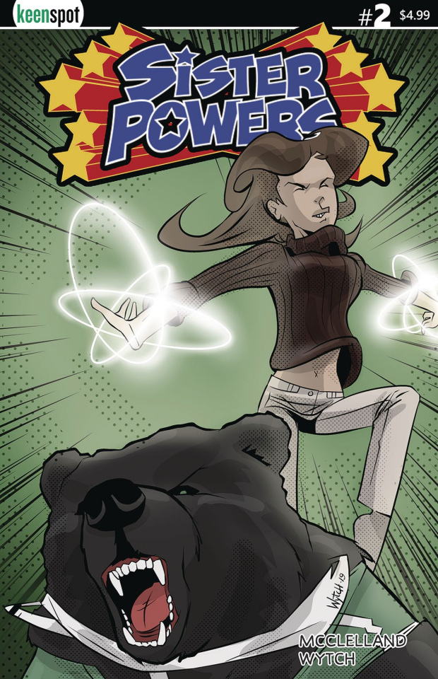 Sister Powers #2 (Powered Up Cover)