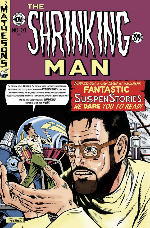 The Shrinking Man #1 (EC Subscription Cover)