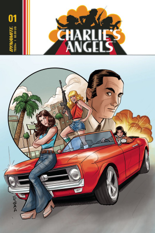 Charlie's Angels #1 (Eisma Cover)
