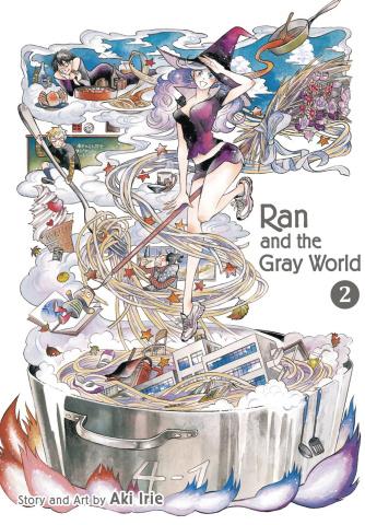 Ran and the Gray World Vol. 2