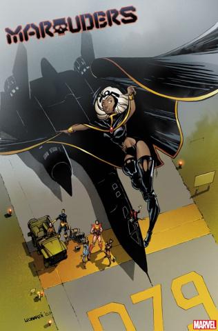 Marauders #1 (Leonardi Hidden Gem Cover)