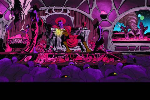 Sinestro #8 (Darwyn Cooke Cover)