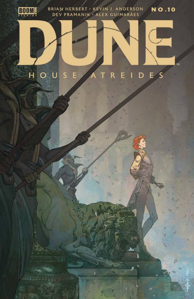Dune: House Atreides #10 (Cagle Cover)