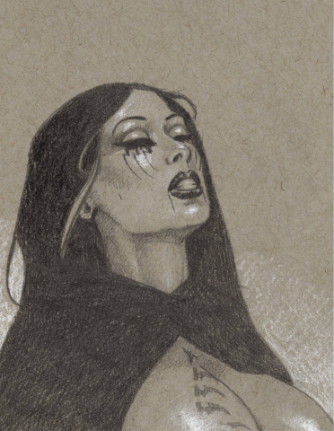 Alt Paths: Raven Hex, The Swordmaiden #1 (Litho Edition)