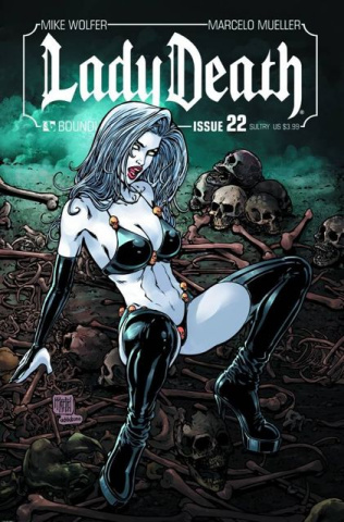 Lady Death #22 (Sultry Cover)