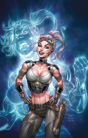 Van Helsing vs. The League of Monsters #3 (Royle Cover)